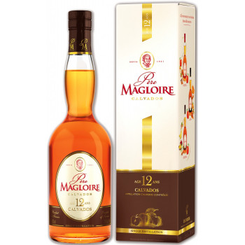 Кальвадос Pere Magloire 12 Years Old, gift box, 0.7 л