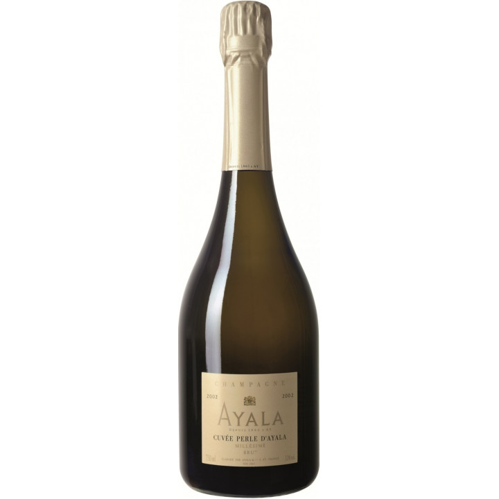 "Шампанское Ayala, ""Cuvee Perle d'Ayala"" Millesime Brut, 2002"