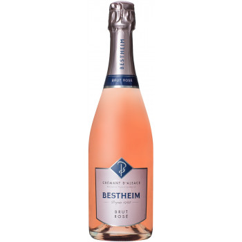 Игристое вино Bestheim, Cremant d'Alsace AOC Brut Rose