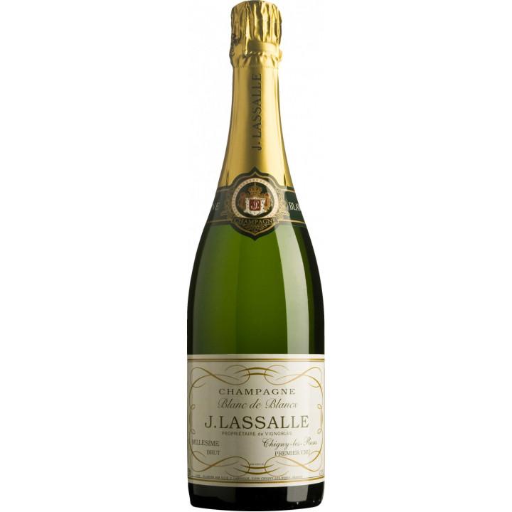 Шампанское J. Lassalle, Blanc de Blancs, Premier Cru Chigny-Les-Roses, 2008
