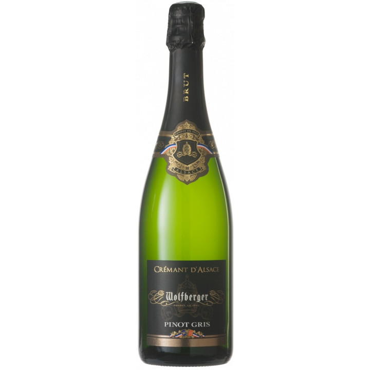 Игристое вино Wolfberger Cremant d'Alsace Pinot Gris
