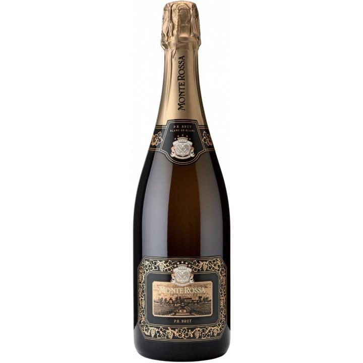 "Игристое вино Monte Rossa, ""P.R."" Blanc de Blancs Brut"