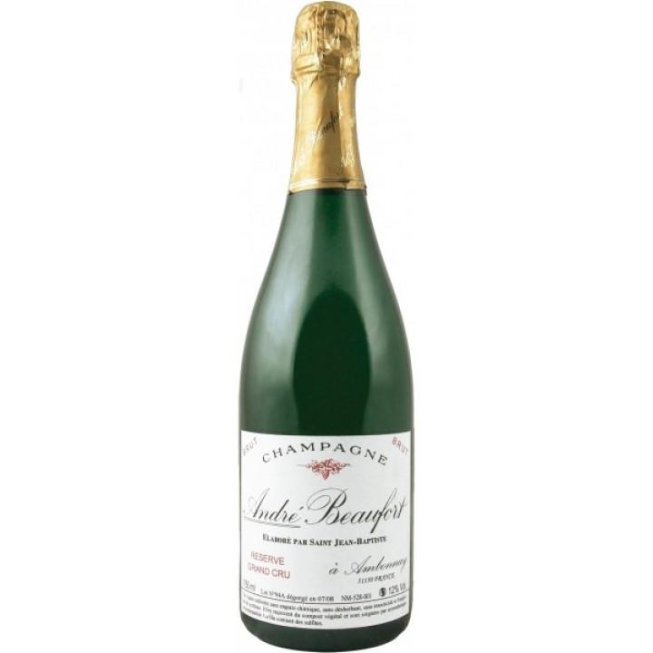 Шампанское Andre Beaufort Brut Grand Cru Reserve