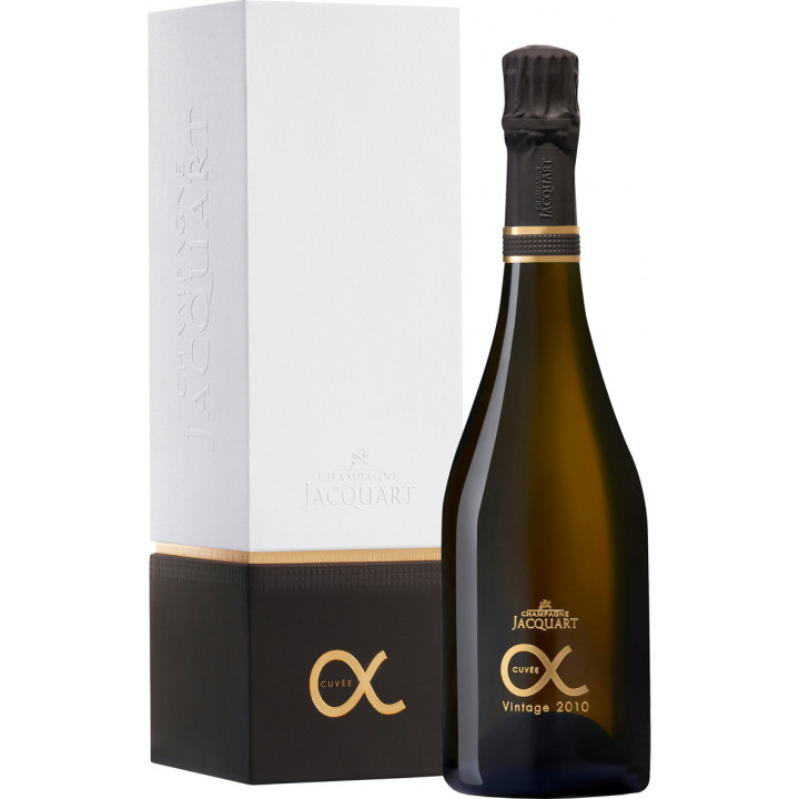 """Шампанское Jacquart, """"Cuvee Alpha"""", 2010, gift box"""