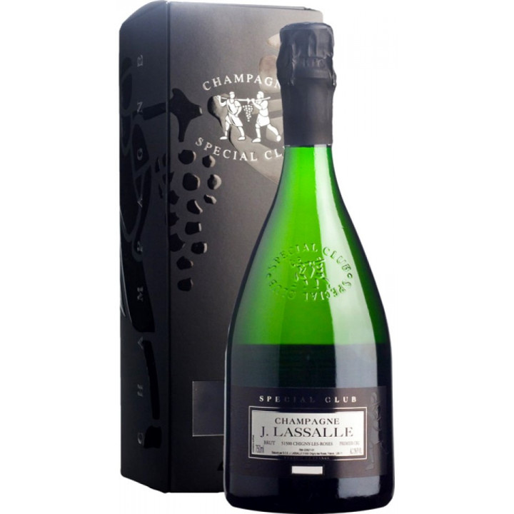 "Шампанское J. Lassalle, ""Special Club"", Premier Cru Chigny-Les-Roses, 2008, gift box"