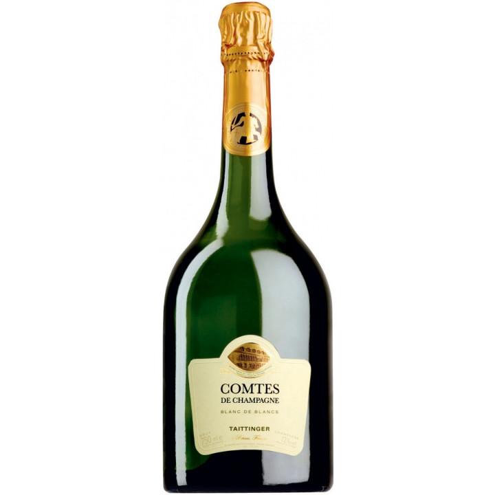 """Шампанское Taittinger, """"Comtes de Champagne"""" Blanc de Blancs Brut, 2006"""