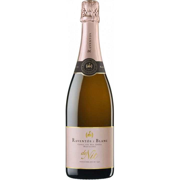 """Игристое вино Raventos i Blanc, """"De Nit"""" Brut Rose, 2015"""