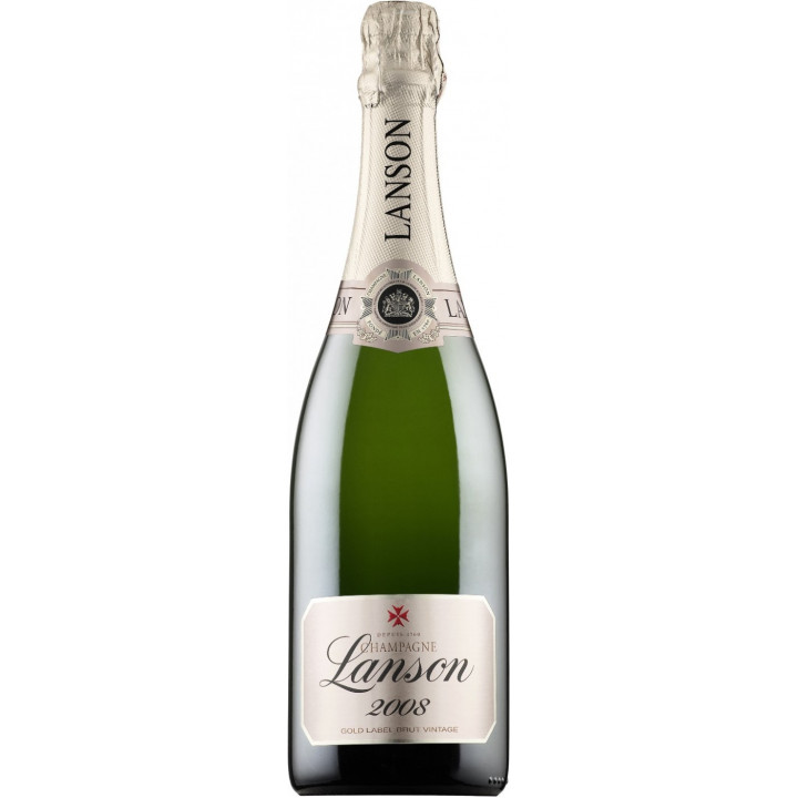 "Шампанское Lanson, ""Gold Label"" Brut Vintage, 2008"