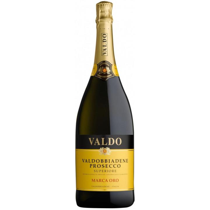 """Игристое вино Valdo, """"Marca Oro"""", Prosecco di Valdobbiadene Superiore DOCG, 1.5 л"""