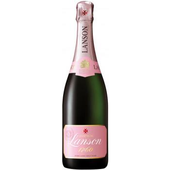 "Шампанское Lanson, ""Rose Label"" Brut Rose"