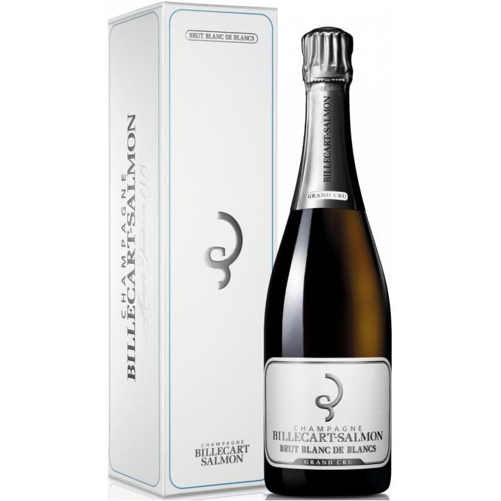 Шампанское Billecart-Salmon, Brut Blanc de Blancs Grand Cru, gift box