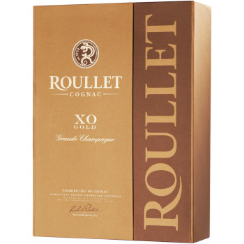 "Коньяк ""Roullet"" XO Gold, Grande Champagne AOC, gift box, 0.7 л"