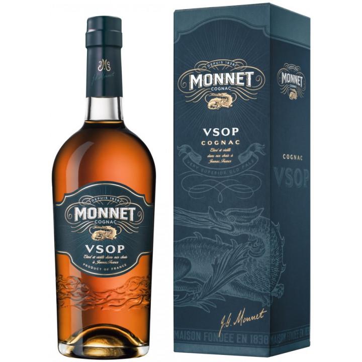 """Коньяк """"Monnet"""" VSOP, gift box, 0.7 л"""