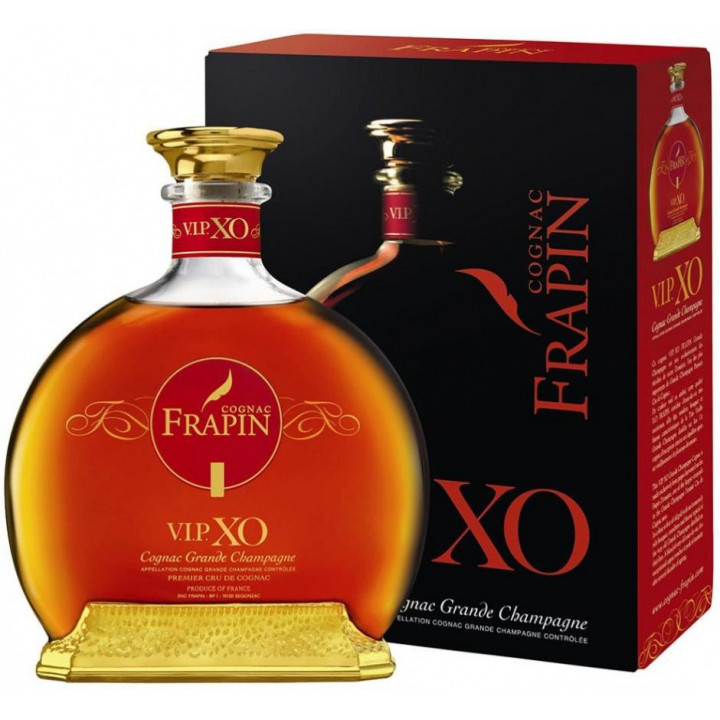 Коньяк Frapin VIP XO Grande Champagne, Premier Grand Cru Du Cognac (with box), 0.7 л