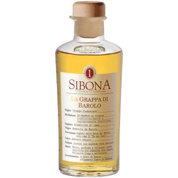 Граппа Sibona, La Grappa di Barolo, 0.5 л