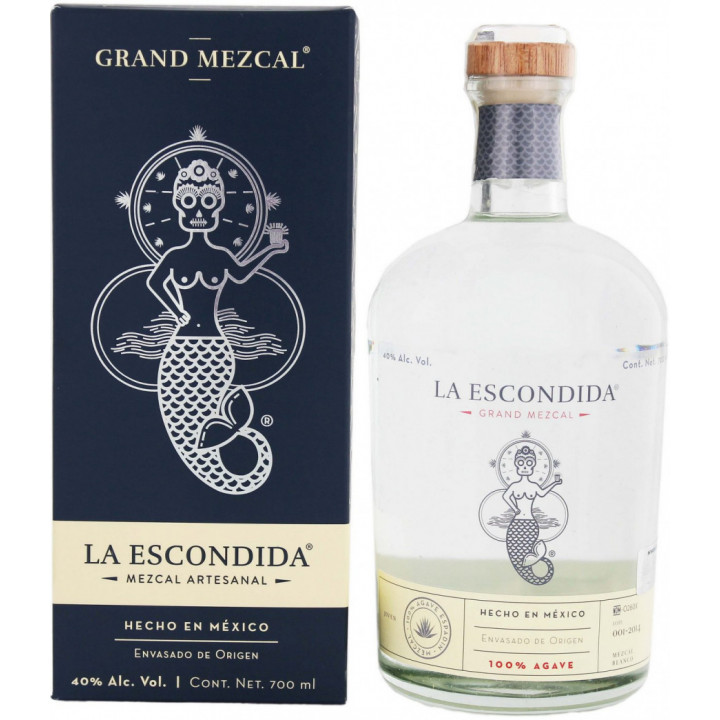 "Текила Grand Mezcal ""La Escondida"", gift box, 0.7 л"