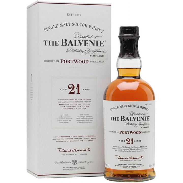 Виски Balvenie PortWood 21 Years Old, gift tube, 0.7 л
