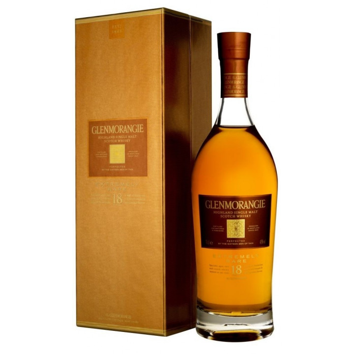 "Виски Glenmorangie ""Extremely Rare"" 18 YO, in gift box, 0.7 л"