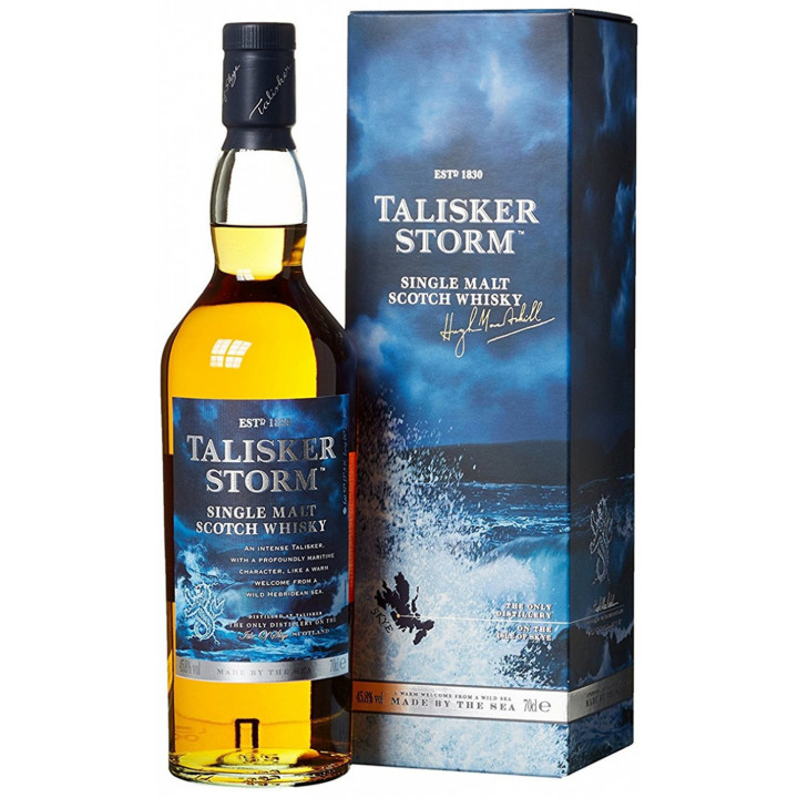 """Виски Talisker """"Storm"""", gift box, 0.7 л"""
