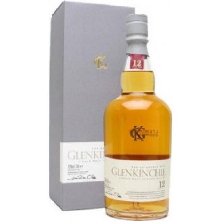 """Виски """"Glenkinchie"""" Malt 12 years old, with box, 0.7 л"""