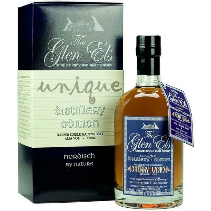 "Виски Glen Els, ""Unique Distillery Edition"" gift box, 0.7 л"