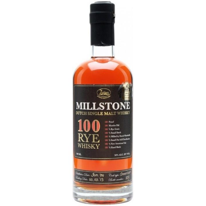 "Виски ""Millstone"" 100 Rye Whisky, 0.7 л"