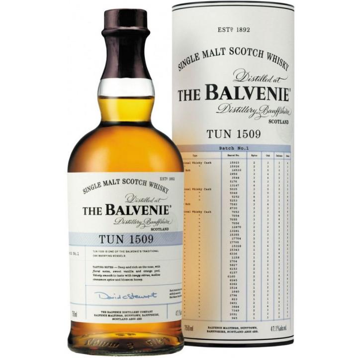"""Виски Balvenie, """"TUN 1509"""", in tube, 0.7 л"""
