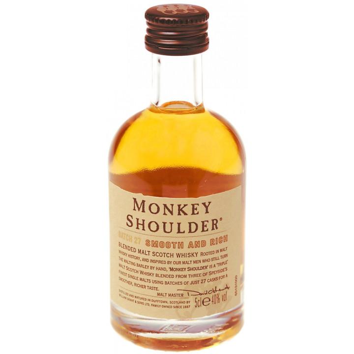 """Виски """"Monkey Shoulder"""", 50 мл"""