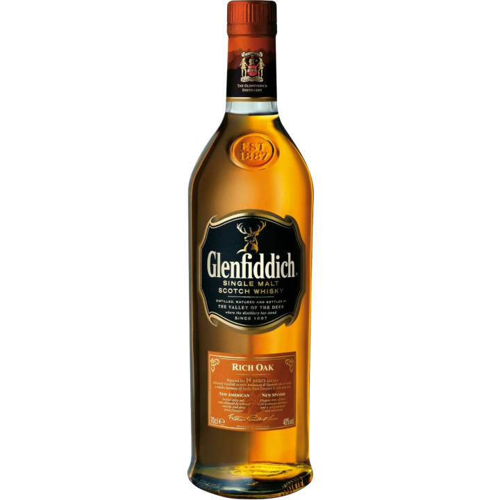 "Виски Glenfiddich, ""Rich Oak"" 14 Years Old, 0.7 л"