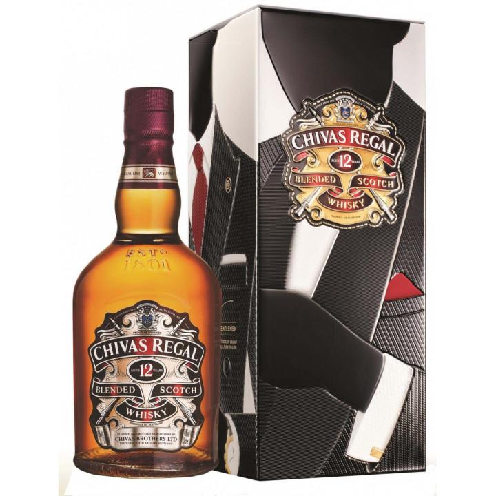 Виски Chivas Regal 12 years old, gift box Patrick Grant, 0.7 л