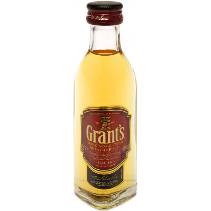 Виски Grant's Family Reserve, 50 мл