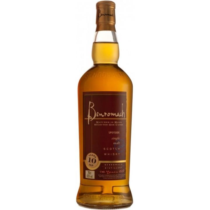 Виски Benromach 10YO, 0.7 л