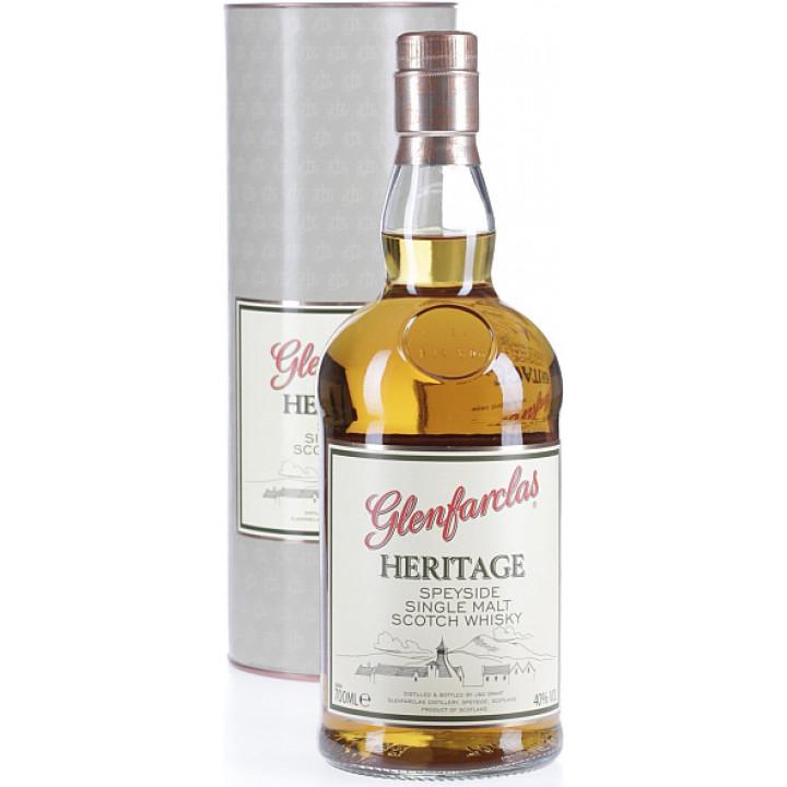 Виски Glenfarclas Heritage, In Tube, 0.7 л