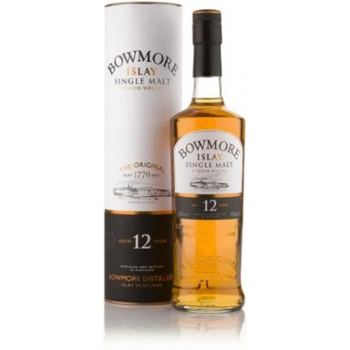 Виски Bowmore 12 Years Old, gift box, 0.7 л