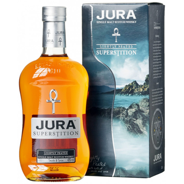"Виски ""Jura Superstition"", gift box, 0.7 л"