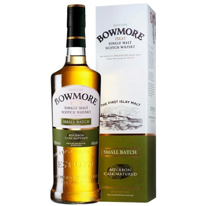 "Виски Bowmore, ""Small Batch"", gift box, 0.7 л"