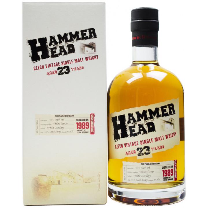 Виски Hammer Head, 23 Years Old, in gift box, 0.7 л