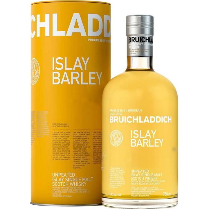 """Виски Bruichladdich, """"Islay Barley"""", in tube, 0.7 л"""