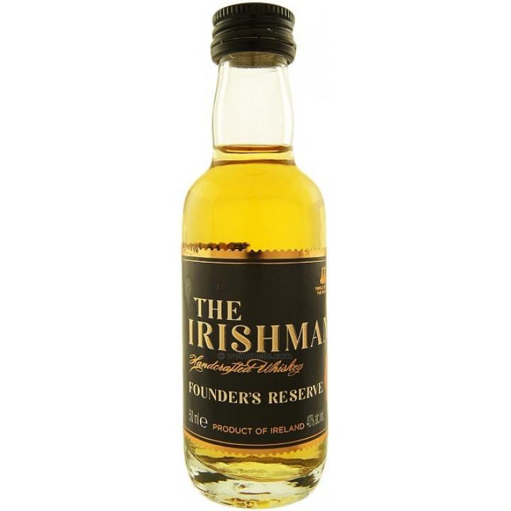 "Виски ""The Irishman"" Founder's Reserve, 50 мл"
