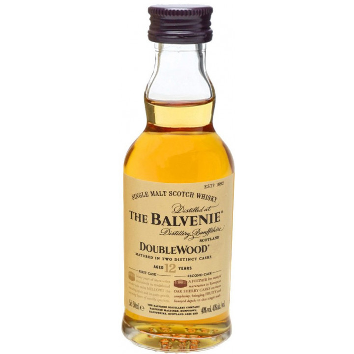 "Виски ""Balvenie"" Doublewood 12 Years Old, 50 мл"