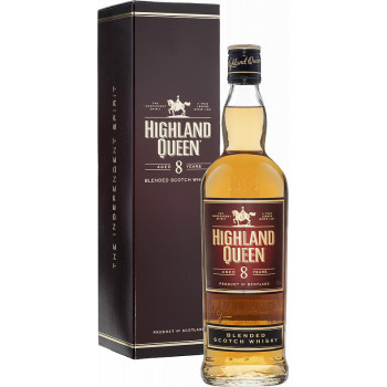 "Виски ""Highland Queen"", 8 Years Old, gift box, 0.7 л"