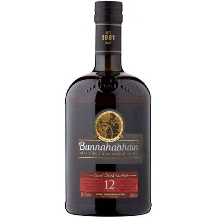 Виски Bunnahabhain aged 12 years, 0.7 л