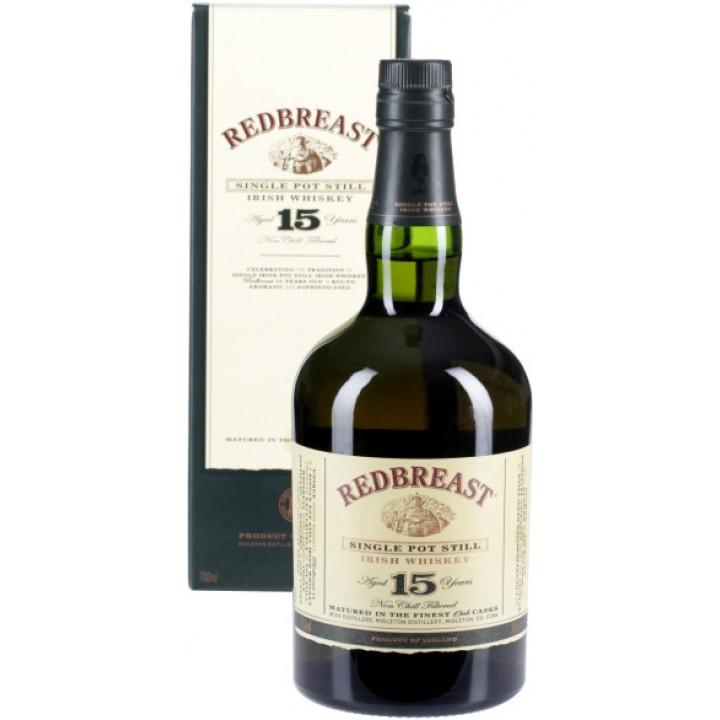 """Виски """"Redbreast"""", 15 years, gift box, 0.7 л"""