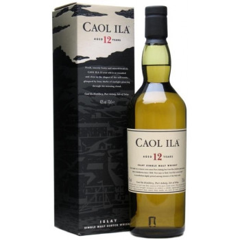 "Виски ""Caol Ila"" malt 12 years old, with box, 0.7 л"