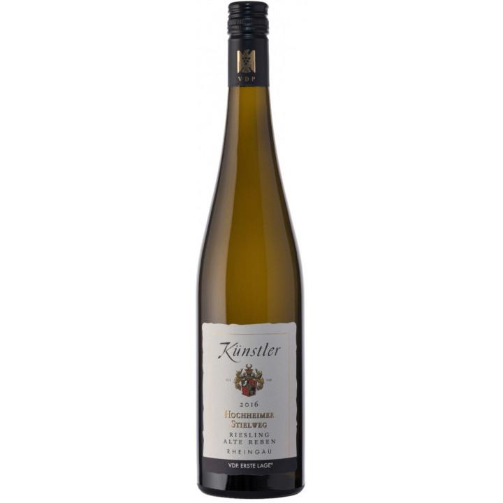 """Вино Kunstler, Stielweg Riesling """"Alte Reben"""", 2016"""
