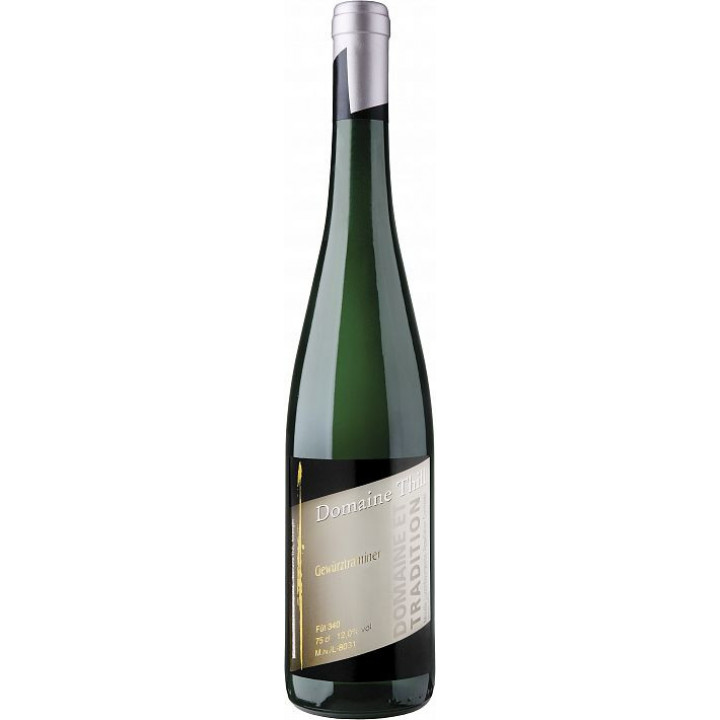 """Вино Domaine Thill, """"Domaine et Tradition"""" Gewurztraminer, Moselle Luxembourgeoise AOC, 2016"""