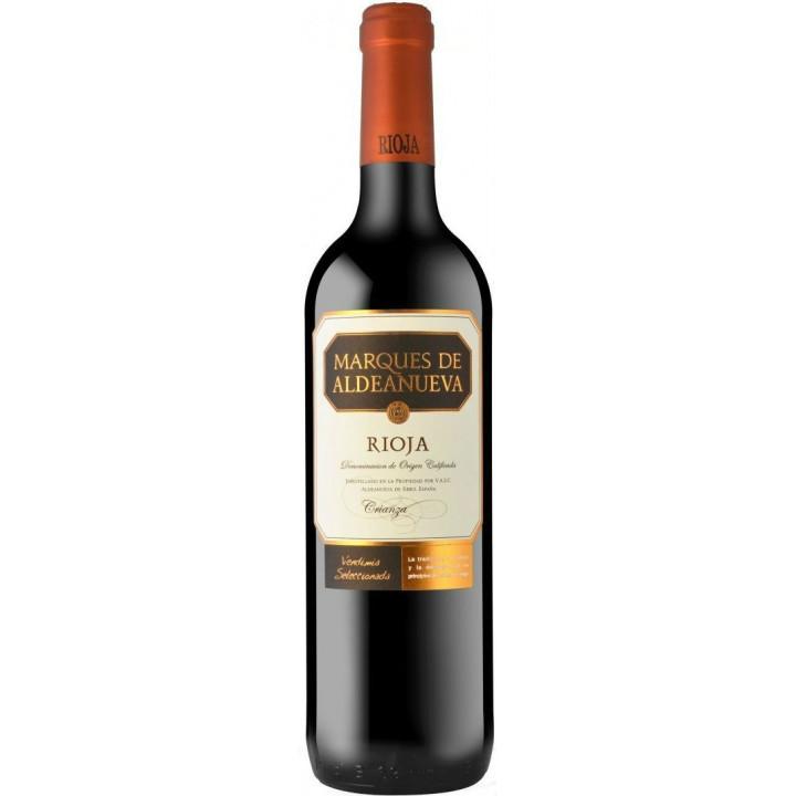 """Вино """"Marques de Aldeanueva"""" Crianza, Rioja DOC, 2015"""