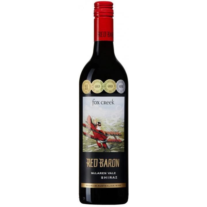 "Вино Fox Creek, ""Red Baron"" Shiraz, 2015"