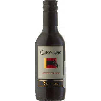 """Вино """"Gato Negro"""" Cabernet Sauvignon, 2016, 187.5 мл"""