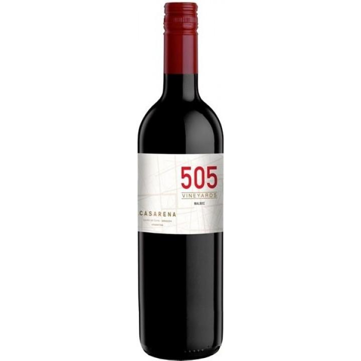 """Вино Casarena, """"505"""" Malbec, 2017"""